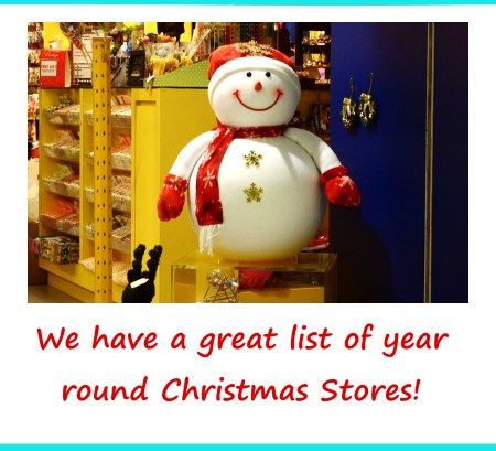 Year Round Christmas Stores