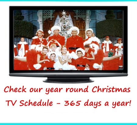 Christmas TV Schedule